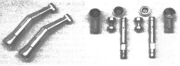 Внешний вид и внутренние конструктивные элементы углового наконечника