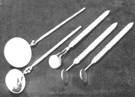Обработка стоматологических зеркал